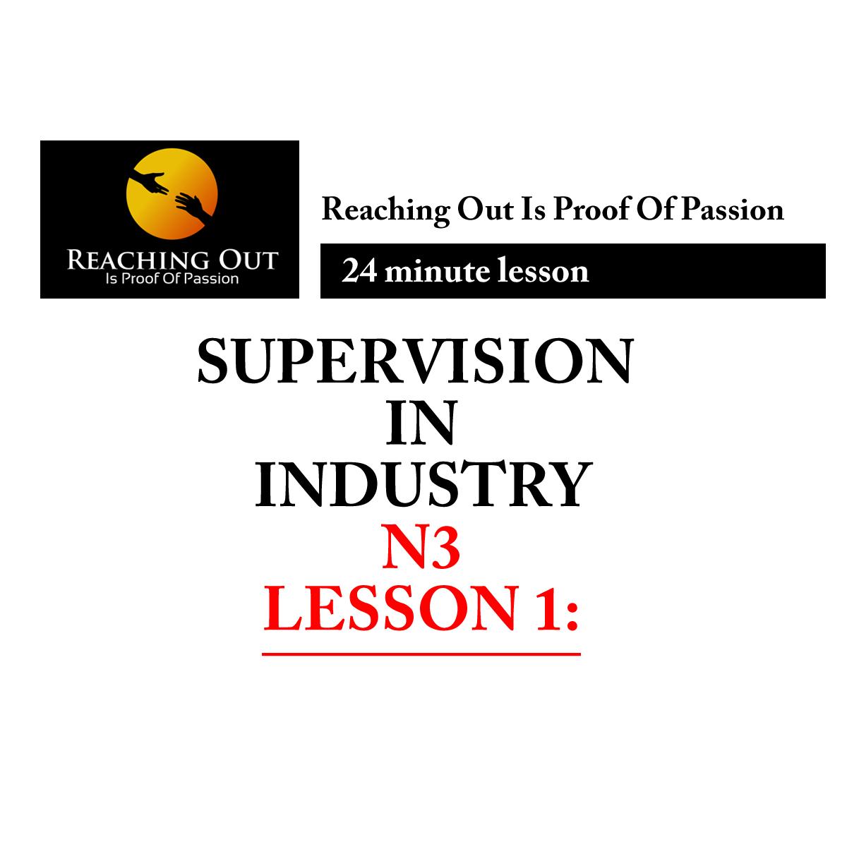 Engineering studies, National N1, N2, N3 certificate