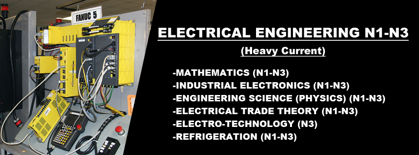 Electrical Engineering N1-N3 Course in 2021